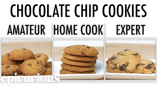 Gambar cover 4 Levels of Chocolate Chip Cookies: Amateur to Food Scientist | Epicurious