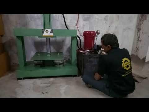 Manual Hydraulic Paper Dish Machine