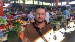 Еда в Черногории: продуктовый  рынок и ресторан