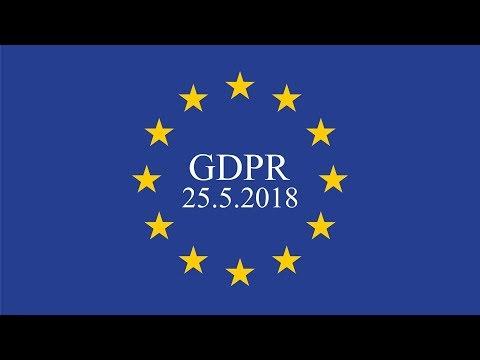 GDPR. Закон о защите персональных данных в Евросоюзе