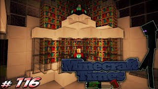 Minecraft Times #116 - Double Enchanting, Brewing, Storage and Anvil ROOM