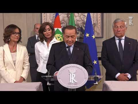 CONSULTAZIONE GRUPPO PARLAMENTARE FORZA ITALIA – BERLUSCONI PRESIDENTE