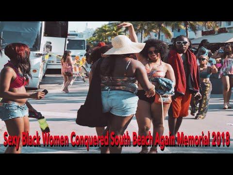 Sexy Black Women Conquered South Beach Again Memorial 2018