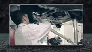 Video: Komplettanlage inkl. Kat und Fächerkrümmer von Capristo am C63 AMG W204
