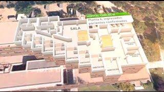 Así el hospital Carlos III de Madrid por dentro - Hospital Carlos III