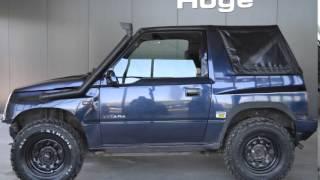 Suzuki Vitara 16 JLX Cabrio Terreinauto MUD Banden 4X4 Inruil Mogelijk