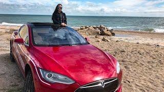 Анти тест драйв Tesla Model S 85+