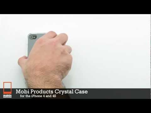 Mobi Products Crystal Case for iPhone 4S & iPhone 4