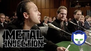 #5: Metallica v. Napster - 10 Most Controversial Moments in Metal on Metal Injection