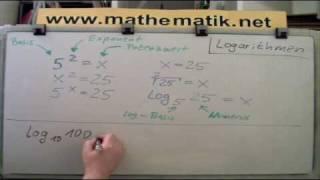 Logarithmus verstehen - Einfache Einführung zum Logarithmus - Самые ...