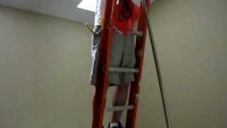 installing a ceiling fan on a 20 foot ceiling