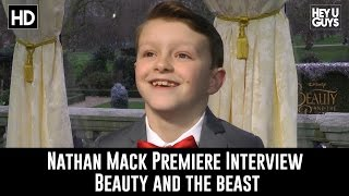 Nathan Mack - Beauty and the Beast Premiere Interview