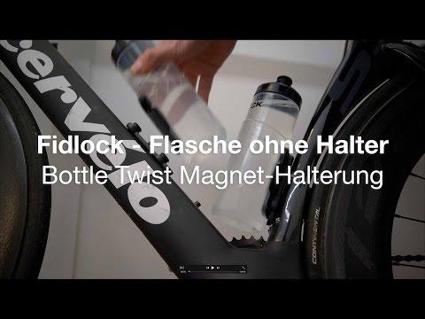 Erster Eindruck: Fidlock Bottle Twist Magnet-Halterung