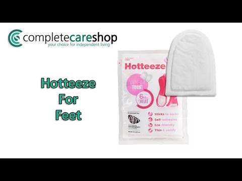 Hotteeze Foot Warmers Demo