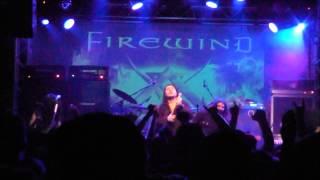 Firewind - Edge of a Dream @ KYTTARO Live Club 21/12/2012