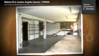 preview picture of video 'Maison F6 à vendre, Argeles Gazost, 179000€'