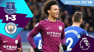 EVERTON 1-3 MAN CITY | LEROY SANÈ 🔥| ON THIS DAY, 31st March 2018