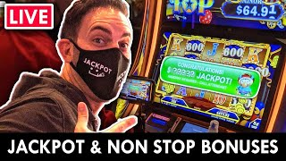 🔴 LIVE JACKPOT - Nonstop BONUS NIGHT at the Casino 🎰 Agua Caliente