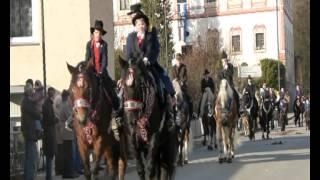 preview picture of video 'Martini Ritt in Miltach 10.11.2012'