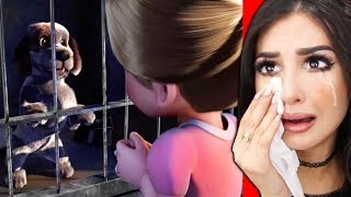 Reacting To The SADDEST Animations