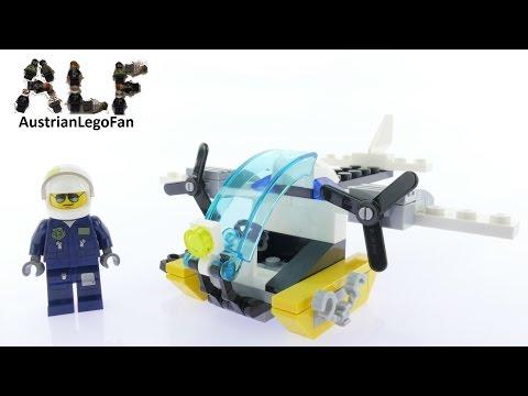 Vidéo LEGO City 30346 : L'hélicoptère de l'île de la prison (Polybag)