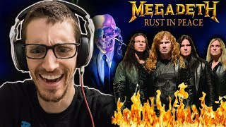 "Hip-Hop Head's FIRST TIME Hearing MEGADETH: ""Holy Wars... The Punishment Due"" REACTION"