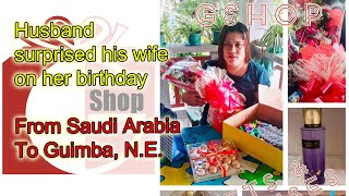BIRTHDAY SURPRISES FOR LOVING WIFE | FROM HUSBAND IN SAUDI ARABIA