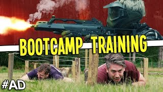 We went through a MILITARY BOOTCAMP!
