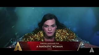 A Fantastic Woman Wins Best Foreign Language Film