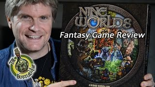 'Nine Worlds'- Fantasy Board Game Review
