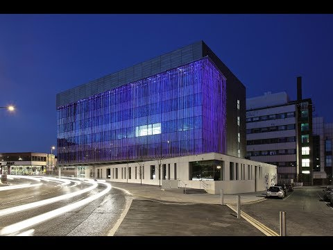 Nottingham Biosciences building from the ground up