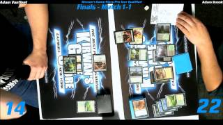 preview picture of video 'MTG Magic PTQ Standard Catskill, NY Finals Game 3 122014'