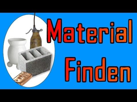 Kupfer,Beton und Andere Seltene Materiallien Finden! Fallout 4
