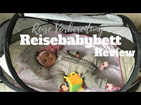 WELTREISE MIT BABY PLANEN  ♥ Baby Reisebett Test ♥ Deryan Travel Cot | Aufbauen |GoodMorningFlorence