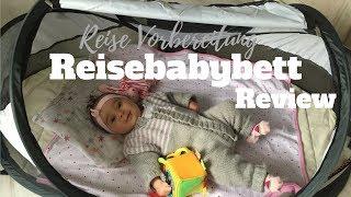 WELTREISE MIT BABY PLANEN  ♥ Baby Reisebett Test ♥ Deryan Travel Cot   Aufbauen  GoodMorningFlorence