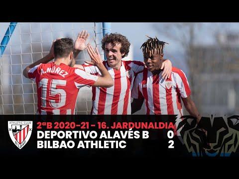 ⚽ Resumen I J16 2ªDiv B I Deportivo Alavés B 0-2 Bilbao Athletic I Laburpena