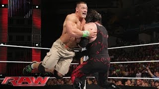 John Cena vs. Kane: Raw, June 2, 2014