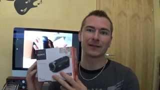 Sony HDR CX240E  Teil1 /Review / Erster Eindruck, Funktionen, Fazit /Deutsch