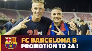 [HIGHLIGHTS] FUTBOL 2aB: Barça B - Racing Santander (0-0)