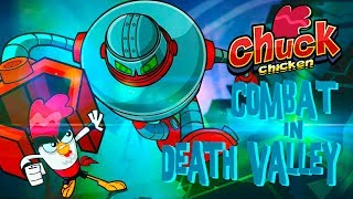 Chuck Chicken - full episode - Combat in Death Valley - cartoon show