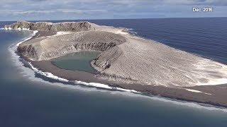 A New Time-lapse of an Island Forming in Tonga