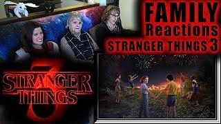 STRANGER THINGS 3   teaser trailer   FAMILY Reactions