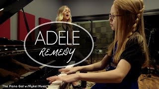 Remedy - Adele | Cover by Mykel Music & The Piano Gal/Sara Arkell