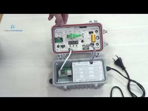 LATEL LR-901P, оптический приёмник с возможностью мониторинга, 114 дБмкВ, -8...+2 дБм, АРУ, SC