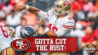 Live! 49ers Jimmy Garoppolo Under Pressure To Recover Form In 3 Weeks