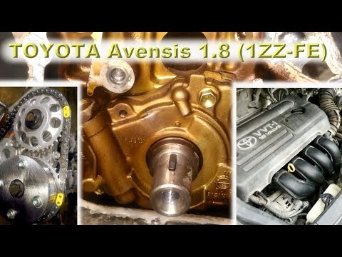 Фото к видео: TOYOTA Avensis 1.8 (1ZZ-FE) - Капиталим японскую легенду!
