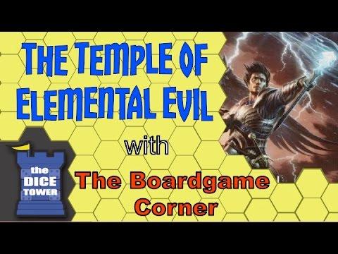 Boardgame Corner (Dice Tower) Reviews: Temple of Elemental Evil