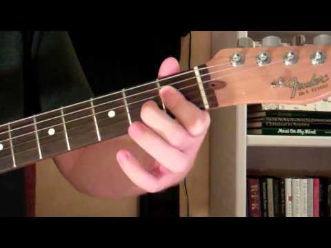 How To Play the Cm6 Chord On Guitar (C minor sixth) 6th