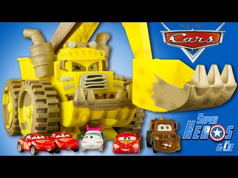 Disney Cars Screaming Banshee Monstre Cars Toon Martin Jouet Toy Review Les Bagnoles