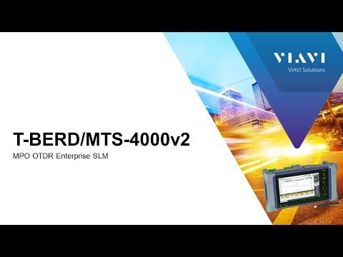Video: VIAVI MTS 4000v2: MPO OTDR, Enterprise SLM